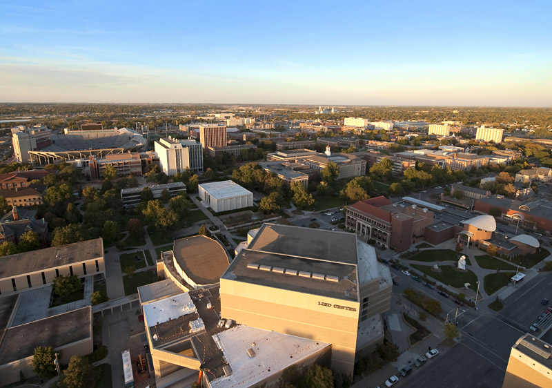 aerial of City Campus